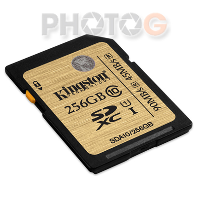 Kingston SDA10 Ultimate SDXC 256GB class 10 UHS-I 讀90mb/S 寫45mb/s 終身保固