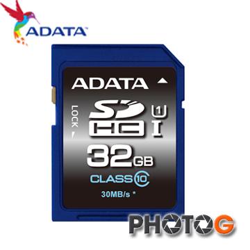ADATA 威剛 SDHC 32G/ 32GB Class 10 記憶卡 ASDH32GHICL10-R  (終身保固)