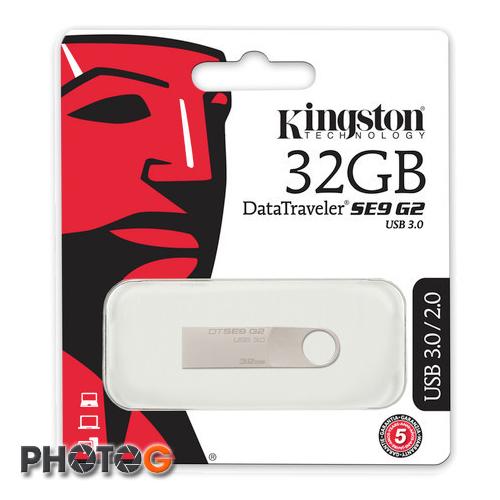 KingSton 金士頓 DataTraveler SE9 G2 USB 3.0 32GB 32G 金屬  隨身碟 USB3.0 DTSE9G2  (五年保固)