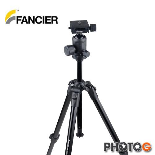FANCIER 偉峰 WF-530B 鋁合金 三腳架 ( 可低角度 )