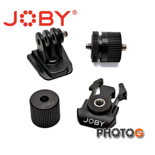 JOBY Action Adapter Kit  可變式接座組  適用 運動攝影機  Gopro hero4 hero3  (立福公司貨)