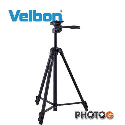 Velbon EX-330Q  三角架 腳架 鋁合金   ( 附腳架袋、 含三向雲台 , 欽輝行公司貨)