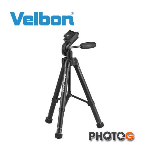 Velbon Ultra P-MAX p-max  輕巧  超輕量鋁合金腳架   (  含 單手把雲台 , 欽輝行公司貨)