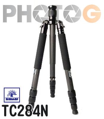 Tiltall TC-284N 碳纖維腳架 反折 四節 TC284N 攝影腳架 帝特 碳纖 ( 不含雲台 公司貨)