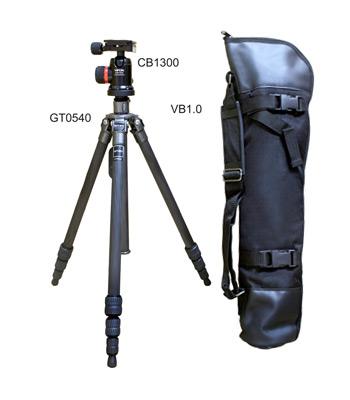 GITZO GT0540 三腳架套組 6X 碳纖維 專業腳架 4節(含雲台CB1300;背袋VB1.0;文祥公司貨) 碳纖維0號