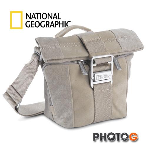 NG 國家地理 P2025 典藏系列 高級帆布與皮革結合  肩背包   攝影包 側背 斜背 (正成公司貨)