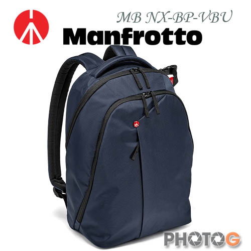 Manfrotto MB NX-BP-VBU 深藍色  Backpack 開拓者雙肩後背包(正成公司貨)