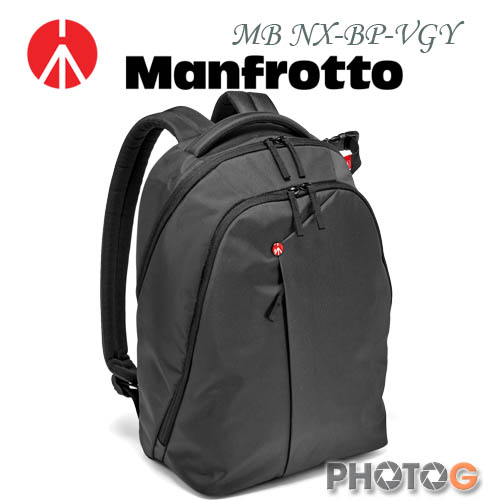 Manfrotto MB NX-BP-VGY 深灰色 Backpack 開拓者雙肩後背包 (正成公司貨)