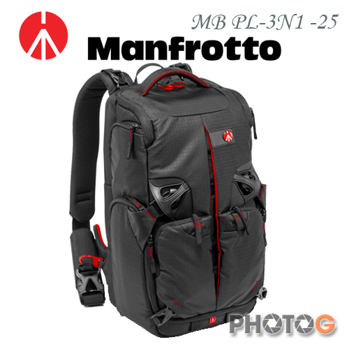 Manfrotto MB PL-3N-25 3N1 旗艦級3合1 雙肩背包 同 KATA 3N1.25 (正成公司貨)