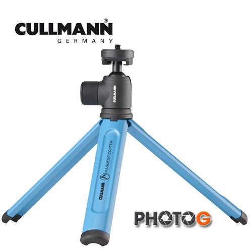 CULLMANN 德國 酷瑪 CB2.7  (藍色) 迷你兩用腳架 閃燈架 (欽輝行公司貨)