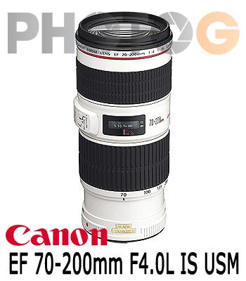 Canon EF 70-200mm F4.0L IS USM 望遠變焦鏡頭(70-200;彩虹公司貨)