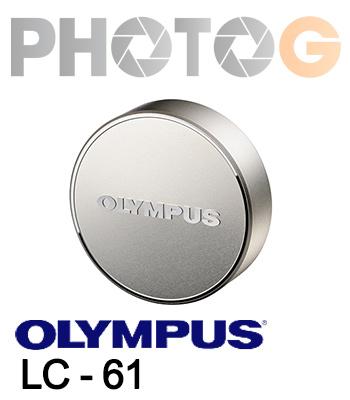 Olympus LC- 61 金屬鏡頭蓋  適用於M.Zuiko ED 75mm F1.8鏡頭 元佑公司貨