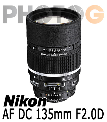 Nikon AF DC 135mm F2.0D 定焦鏡頭(135 2;國祥公司貨)