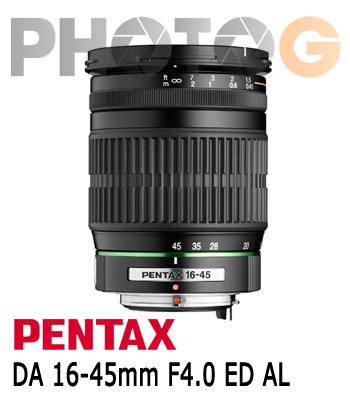 PENTAX smc DA 16-45mm F4.0 ED AL 標準變焦鏡頭(16-45; 富?公司貨)