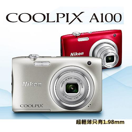 Nikon CoolPix A100 a100  A100 數位相機 名片機 ( 國祥公司貨)