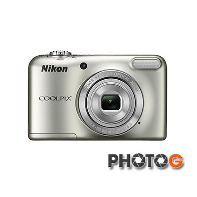 Nikon CoolPix L31 數位相機【 送8G+讀卡機+清潔組 】( L31,國祥公司貨) 使用AA電池 工地機