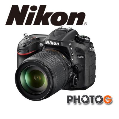 Nikon D7200 kit  含 AF-S 18-140VR 鏡頭   (國祥公司貨)、隨機送32G+清潔組+攝影包