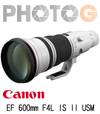 Canon EF 600mm F4L II IS USM 望遠鏡頭(彩虹公司貨)