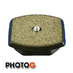 SLIK 6123 快拆板 (適用Pro 330DX、340DX、400DX、500DX 及 Able 300DX) 立福公司貨