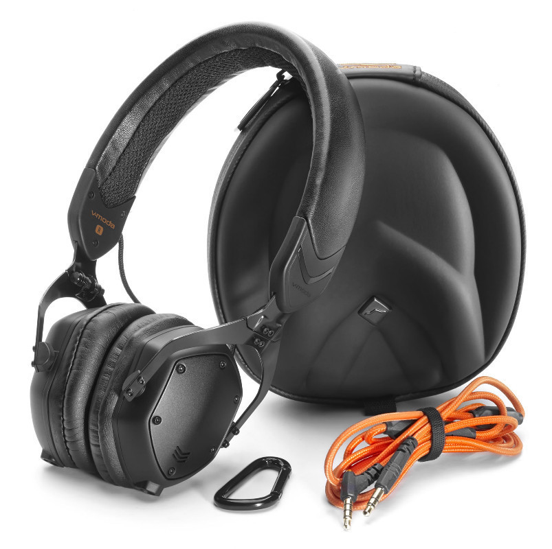 V-MODA XS 耳罩貼耳式隔音金屬摺疊耳機 店面提供試聽