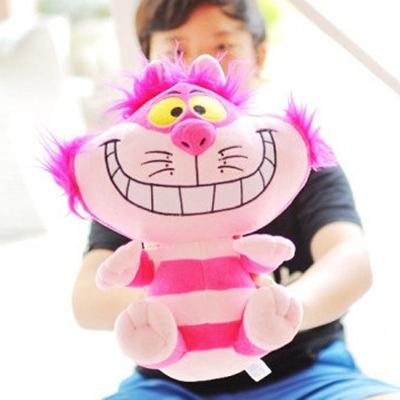 美麗大街【104110303】18吋愛麗絲夢遊仙境食夢貓坐姿娃娃 玩偶
