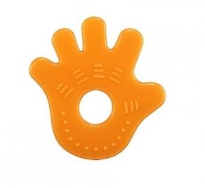台灣【Simba 小獅王】柑橘矽膠固齒器(手)