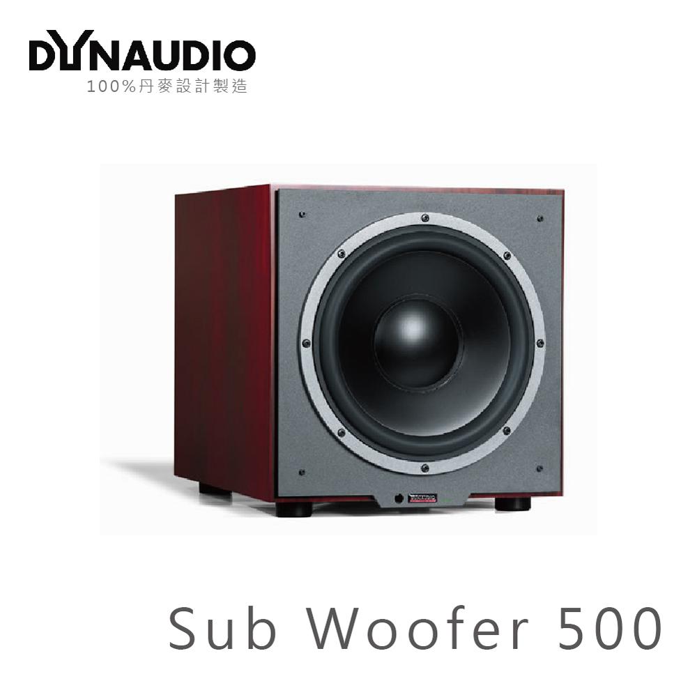 【丹麥 Dynaudio】SUB 500 超低音喇叭 核桃木色