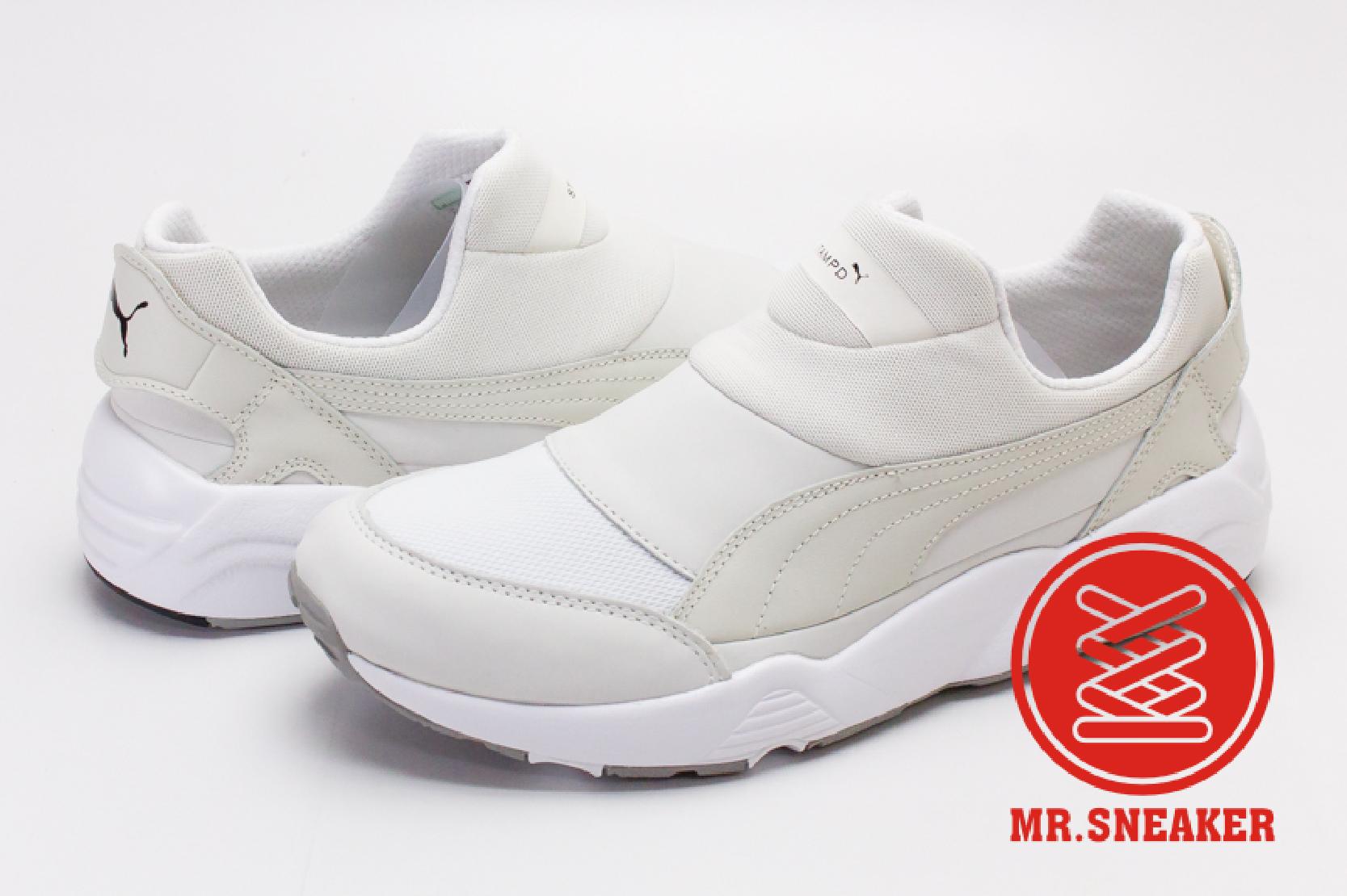 ☆Mr.Sneaker☆ Puma Trinomic Sock NM X Stampd 限量 聯名 襪套式 免鞋帶 米白 男款