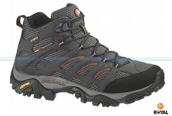 MERRELL 新竹皇家 MOAB MID GORE-TEX 黑色 防水 運動鞋 高筒 男款 NO.A8008