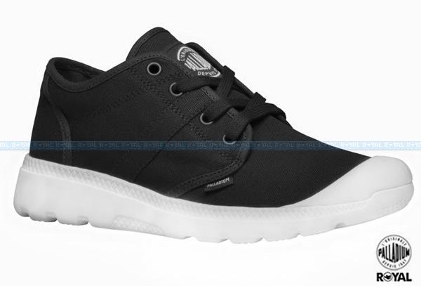 Palladium 新竹皇家 Black & White Collection 黑色 布質 男款 NO.A8112
