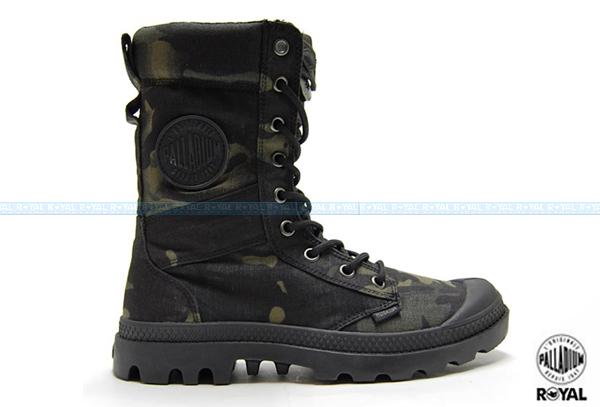 Palladium 新竹皇家 TACTICAL MULTICAM 黑綠 迷彩 透氣 戰鬥靴 男款 NO.A8191