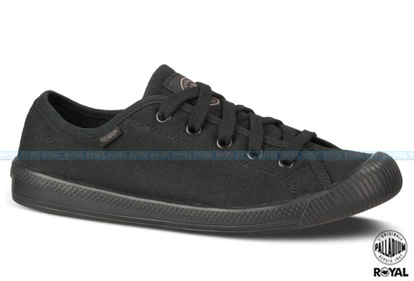 Palladium 新竹皇家 FLEX LACE 黑色 布質 休閒鞋 女款 NO.I5324
