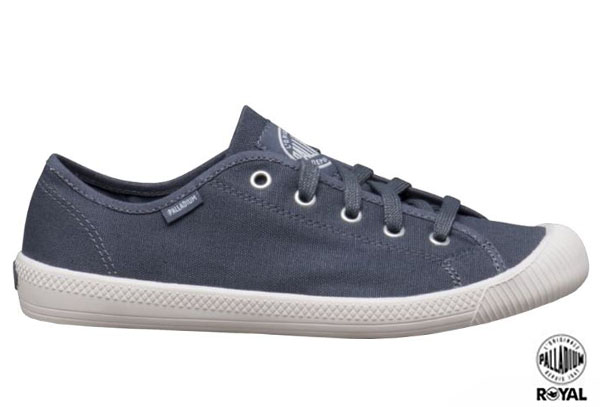 Palladium 新竹皇家 FLEX LACE 藍色 布質 休閒鞋 女款 NO.I5678