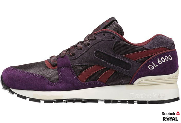 Reebok 新竹皇家 GL 6000 WW 深紫 Classic復古 潮流鞋 女款 NO.I5829