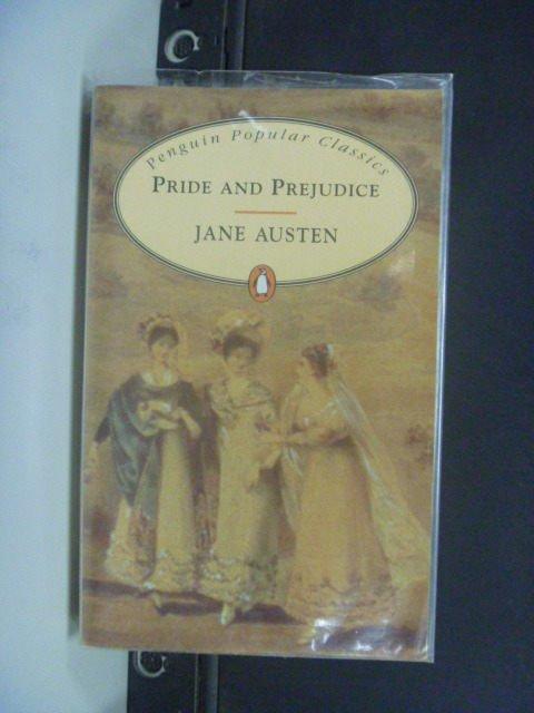 【書寶二手書T7/原文小說_JPC】Pride and prejudice_Jane Austen