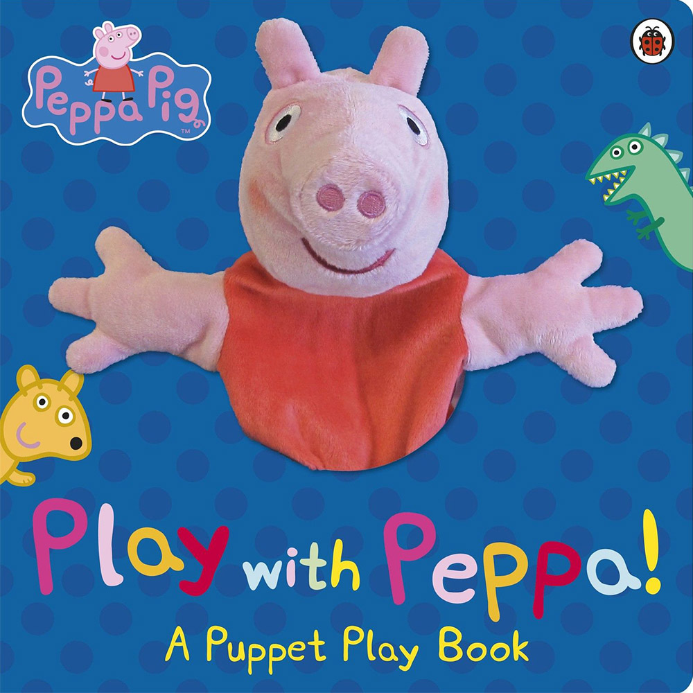Peppa Pig:Play With Peppa Hand Puppet Book 佩佩豬手偶互動書