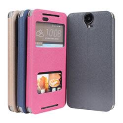 Ultimate- HTC ONE E9+ 金沙紋來電顯示可立式皮套 手機支架皮套  果凍軟殼