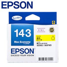 限量促銷 EPSON  原廠  143 高印量 XL 墨水匣 T143450  T143250  T143350 /個
