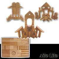 【aife life】3D積木(原色)/立體拼圖/益智玩具/教具/建築師積木,增強幼兒各方面的認知與協調,啟發無限創意想像空間
