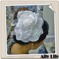 【aife life】新娘祕書必備頭飾胸花(款一),婚紗雙色漸層質感胸花/髮夾/髮飾/裝飾/飾品/精品/胸針