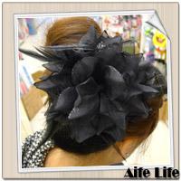 【aife life】新娘祕書必備頭飾胸花(款二),婚紗雙色漸層質感胸花/髮夾/髮飾/裝飾/飾品/精品/胸針