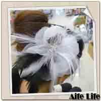 【aife life】新娘祕書必備頭飾胸花(款五),婚紗雙色漸層質感胸花/髮夾/髮飾/裝飾/飾品/精品/胸針