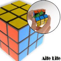 【aife life】立體魔術方塊(小)(5.3*5.3*5.3cm)/腦力激盪/益智玩具,隨手攜帶,色彩鮮豔順暢好轉!!