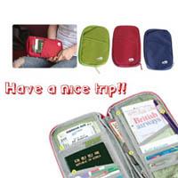 【aife life】旅行用護照夾/卡片夾,一夾在手,機票/護照/零錢/車票井然有序不易弄丟,一般禮贈品最實用