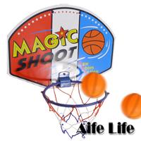【aife life】掛壁籃球框-大/塑膠版籃球框/籃球架/簡易式籃球架/籃球板/組裝式籃球框 ,輕巧好收納,可以掛在椅背上