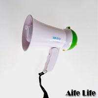 【aife life】迷你大聲公擴音器(無錄音版)/可摺疊,攤販/導遊/老師/主持人/活動可當一般開幕贈品/禮品
