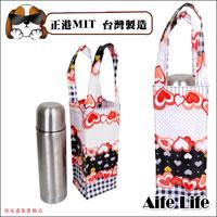 【aife life】MIT台灣製造時尚可愛亮皮防水水壺袋/手提袋雨傘袋奶瓶袋畫具袋收納袋萬用袋