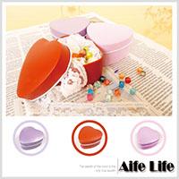 【aife life】愛心型收藏鐵盒(素面)可DIY裝飾/婚禮小物包裝糖果盒贈禮品盒喜糖盒馬口鐵盒/可印字