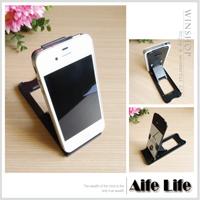 【aife life】平板電腦智慧型手機支撐架/iphone4平板電腦支撐架ipad iphone4s透明折疊托架平板支撐架