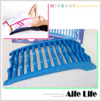【aife life】脊椎舒緩架-無滾輪/可靠椅背當按摩床按摩久坐引起的腰痠背痛/背部按摩器